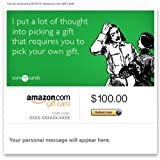 Amazon Gift Card - E-mail - Just Because (Pick Your Own Gift) [Someecards]