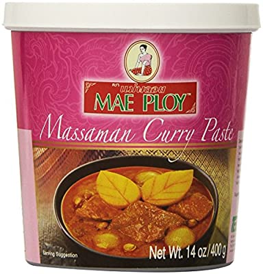 Mae Ploy Thai Matsaman (Massaman) Curry Paste - 14 oz jar by Mae Ploy