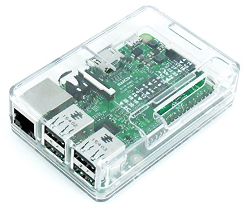 Raspberry Pi3 Model B ボード&ケースセット (Element14版, Clear) -Physical Computing Lab