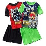 Angry Birds Star Wars 4 PC Pajama Shirt Short Set Boy Size 4 6 8 10
