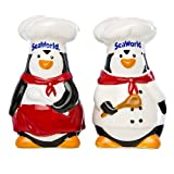 Penguin Chef Salt and Pepper Set