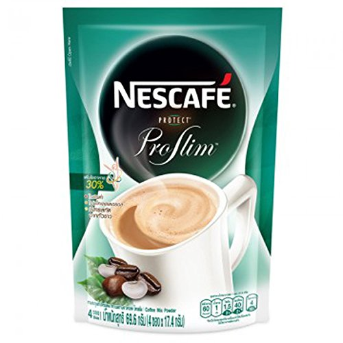 Nescafe 3 in 1 Instant Coffee Protect ProSlim 69.6 g. Contain 4 Sachets. (Tamper Mr Coffee compare prices)