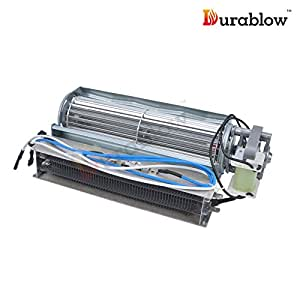 Durablow electric fireplace replacement blower for Electric furnace blower motor replacement