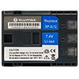 Blumax 7.4 V/1400 mAh Li-Ion Battery for Canon NB-2L12/BP-2L12 fits Elura 40MC/80/85/ZR500/ZR600/ZR700/ZR800/ZR900 Series
