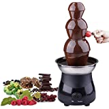 "MegaBrand 21"" Chocolate Fondue Fountain Stainless Steel 3 Tiers(6 lbs)"