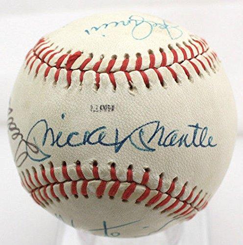 mantle-williams-dimaggio-3-hofers-signed-autographed-baseball-ball-jsa-x94308