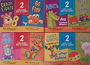 8 children card games abc 39 s build a word for How do you play go fish card game