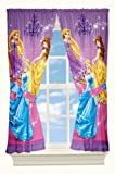 Disney Grand Princesses Drapes, 82 by 63-Inch