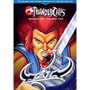 Thundercats  on Amazon Com  Thundercats  Season 1  Vol 2  Dvd   Movies   Tv