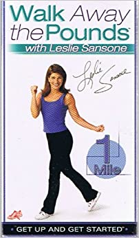 Walk Away The Pounds With Leslie Sansone 3 Vhs Set 1 Mile