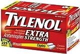 Tylenol Extra Strength Pain Reliever & Fever Reducer Caplets-225 count