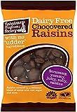 Fabulous Fudge Factory Dairy Free Chocolate Raisins 75 g (Pack of 6)