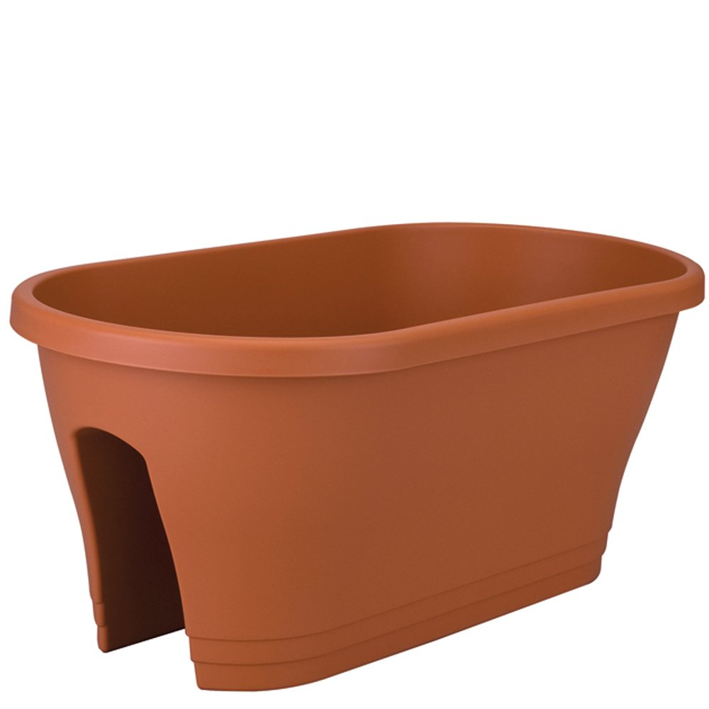 11 space saving planters for a narrow balcony my small for Balcony planters