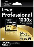 Lexar Professional Thin Box 64GB CompactFlash Speicherkarte 1000x