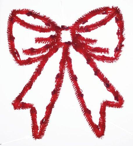 Buy Cheap GKI Bethlehem Lighting Pre Lit 19 Inch Festoon Red Bow