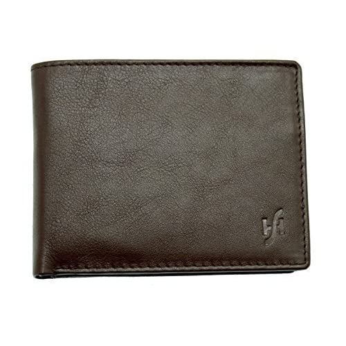 Starhide Mens Designer High Quality Luxury Soft Leather Trifold Wallet Purse Gift Boxed - 115