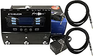TC Helicon Play Acoustic Guitar FX Vocal Effects Pedal w/ Power Supply and 2 Cables (WITH REBATE OFFER!) from TC Helicon