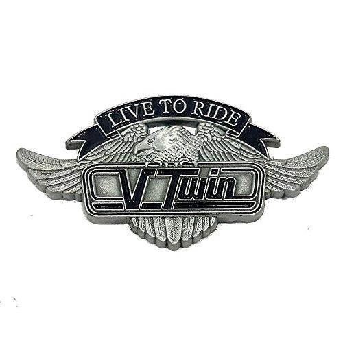 Pin's épinglette aigle motore Vtwin per giacca e gilet