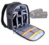 DURAGADGET Professional Camcorder Rucksack / Backpack With Adaptable Interior For Canon Vixa HF G20 / G10 / LEGRIA HF G25