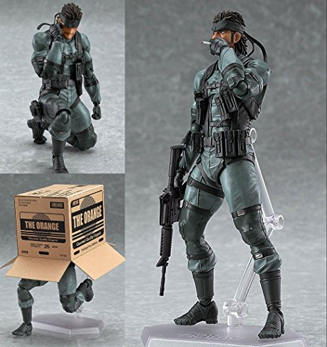 Solid Snake Metal Gear Solid 2 PVC Action Figure In Box