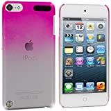 Hot Pink Raindrop Crystal Hard Back Cover Case for Apple iPod Touch 5th Generation 5G 5