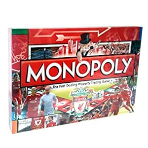 Liverpool Fc Monopoly - Football Gifts from Official Football Merchandise