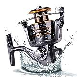 Plusinno® Angelrolle Spinnrolle Süßwasser Salzwasser mit...
