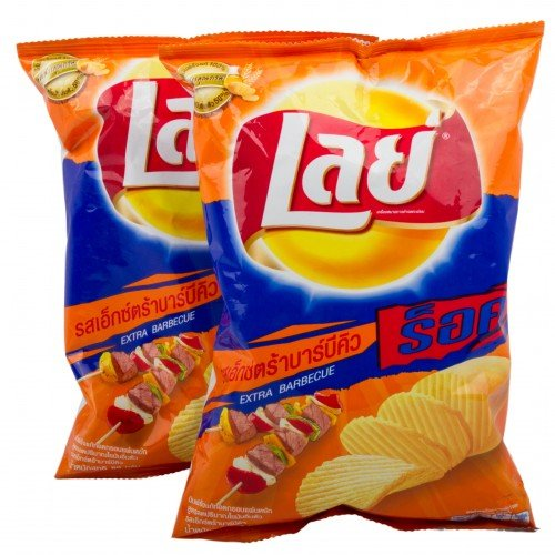 Lays Chips Potato Sheets Extra Barbecue Flavor 55 G. Product of Thailand x 2 Bags машина заглаживающая со 335