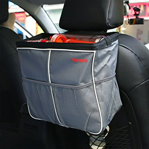 Toy Car Back Seat Organizer : Awardpedia vehemo car seat back organizer garbage