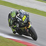 Great Britain No. 35 Cal Crutchlow of Monster Yamaha Tech3 at MotoGP Official Test Sepang 1 on Feb 7, 2013 in Sepang, Malaysia 24