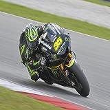 Great Britain No. 35 Cal Crutchlow of Monster Yamaha Tech3 at MotoGP Official Test Sepang 1 on Feb 7, 2013 in Sepang, Malaysia 24