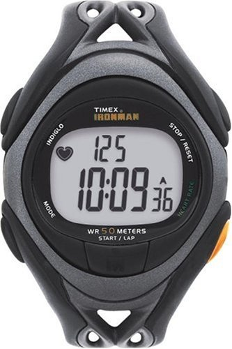 Timex Ironman T5C401 Unisex 30-Lap Digital Fitness Heart Rate Monitor Watch