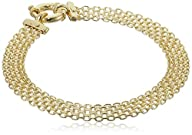 14k Yellow Gold Bismark Link Bracelet…