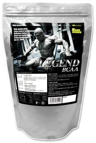 """""""be LEGEND BCAA""""ビーレジェンドBCAAー 国内製造の高品質 が100gあたり980円!"""