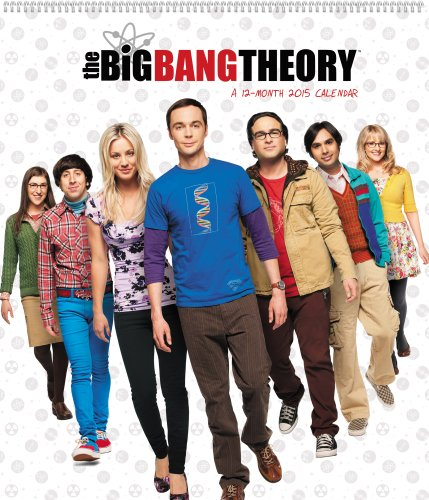 The Big Bang Theory 2015 Poster Calendar