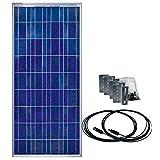 Samlex Solar SSP-150-KIT 150 Watt Solar Panel Kit