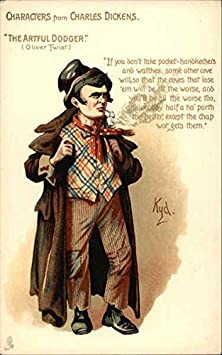 buy The Artful Dodger - Characters From Charles Dickens Original Vintage Postcard