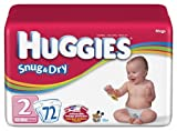 Huggies Snug & Dry Diapers, Size 2, 72-Count