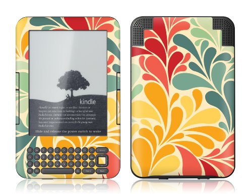 GelaSkins Protective Skin Designer Cover for Amazon Kindle Keyboard - Sea Garden