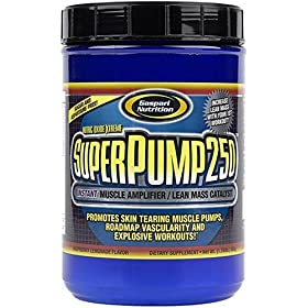 Gaspari Nutrition Superpump250 Raspberry Lemonade, 800 Grams