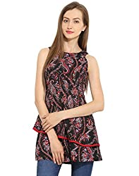 Multicolor Layered Short Dress Small