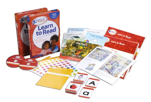 Amazon Exclusive Hooked on Phonics Learn to Read Pre-K Complete with BONUS Stell