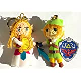 Link And Princess Zelda Ocarina Of Time Legend Of Zelda Mini String Doll Set