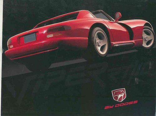 1992 Dodge Viper Rt/10 Brochure