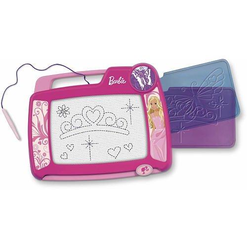 Fisher Price Barbie Kid Tough Doodler W/2 Stencils