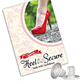 High Heel Protectors Stop Sinking Heels, Feel Comfortable Walking Over Slick or Rough Surfaces Perfect for Everyday Wear, Formal Events or Even on Grass, Included Are 3 Pairs, 3 Different Sizes Each