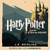 Harry Potter und der Stein der Weisen: Gesprochen von Rufus Beck (Harry Potter 1) | J.K. Rowling