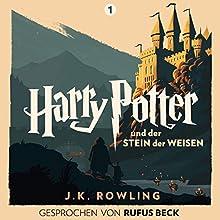 Harry Potter und der Stein der Weisen: Gesprochen von Rufus Beck (Harry Potter 1) Hörbuch von J.K. Rowling Gesprochen von: Rufus Beck