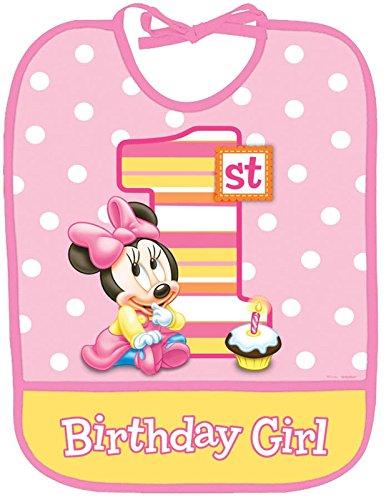 Minnie'S 1St Birthday Bib front-1065069