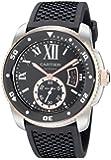 Cartier Men's W7100055 Analog Display Swiss Automatic Black Watch